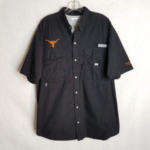 UT Texas Longhorns Columbia PFG Vented Shirt